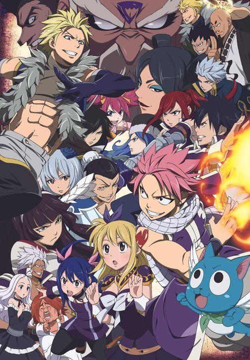 (6. Staffel) - Fairy Tail - Artwork - Bildquelle: Hiro Mashima KODANSHA/Fairy Tail Guild TV TOKYO. All Rights Reserved.