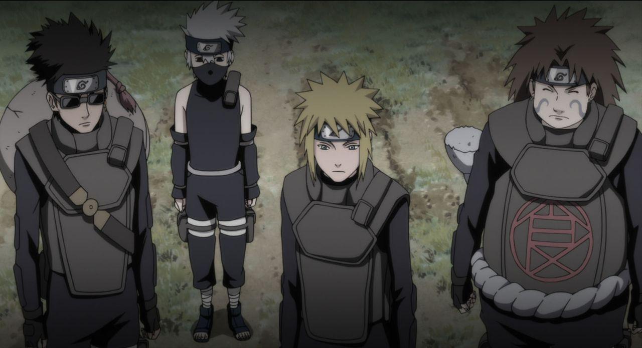 Im Kampf gegen Mukade, der sich die Zeitreise zunutze macht, um über die ganze Welt zu herrschen: Naruto und seine Freunde ... - Bildquelle: 2002 MASASHI KISHIMOTO /2007 Shippuden   NMP 2010