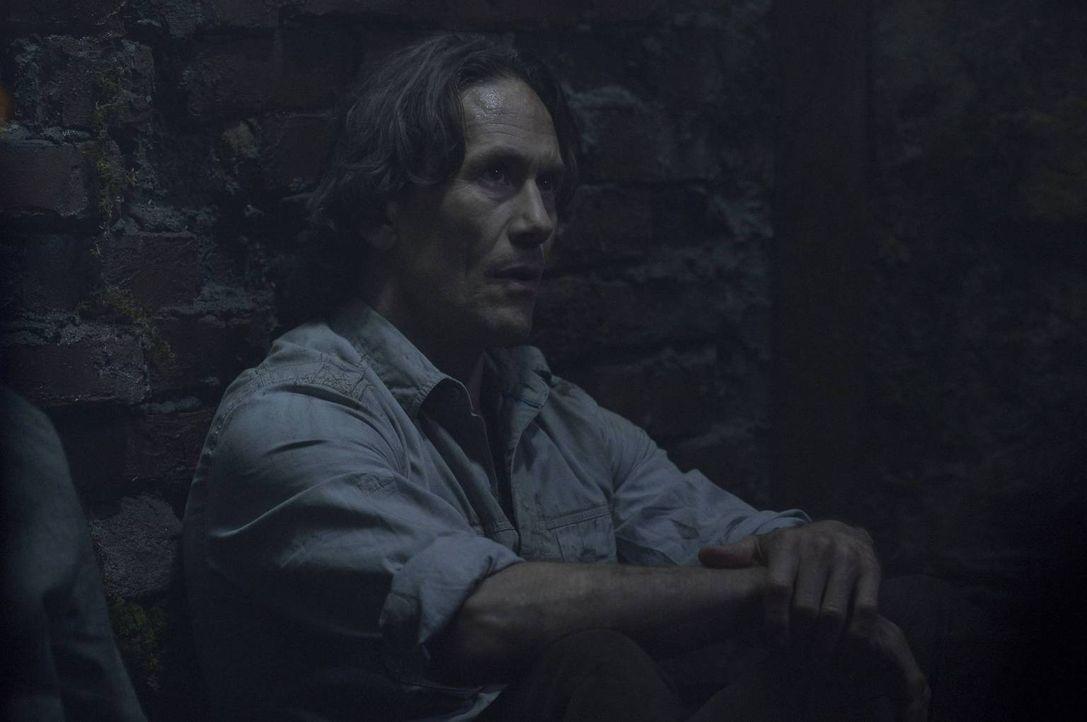 Peter (Neil Napier) glaubte am längeren Hebel zu sitzen, doch dann macht ihm Alan klar, wie viel er wirklich über seine Machenschaften weiß ... - Bildquelle: Philippe Bosse 2014 Syfy Media, LLC