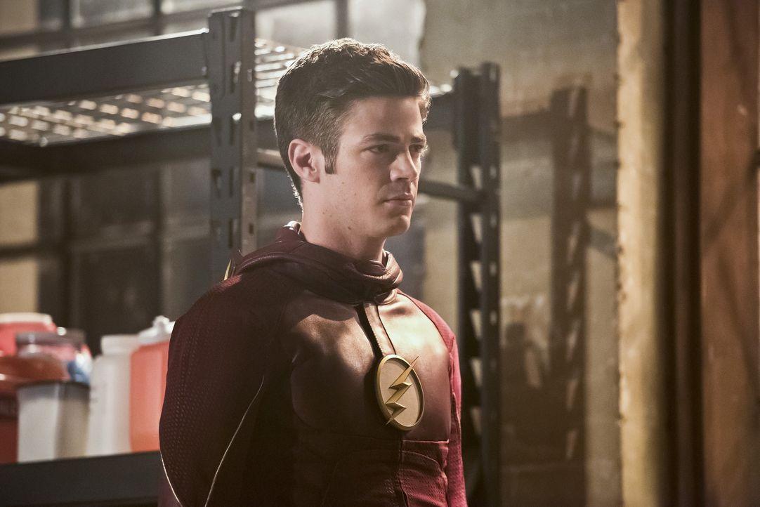 Barry alias The Flash (Grant Gustin) ist fest davon überzeugt, dass er Zoom und dessen Armee schlagen kann. Ist er sich da etwas zu sicher? - Bildquelle: Warner Bros. Entertainment, Inc.