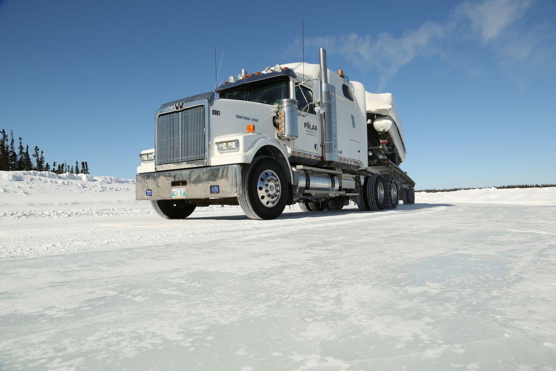 Im winterlichen Wettkampf muss Polar Industries einiges einstecken. Einer de... - Bildquelle: 2014 A+E Networks, LLC