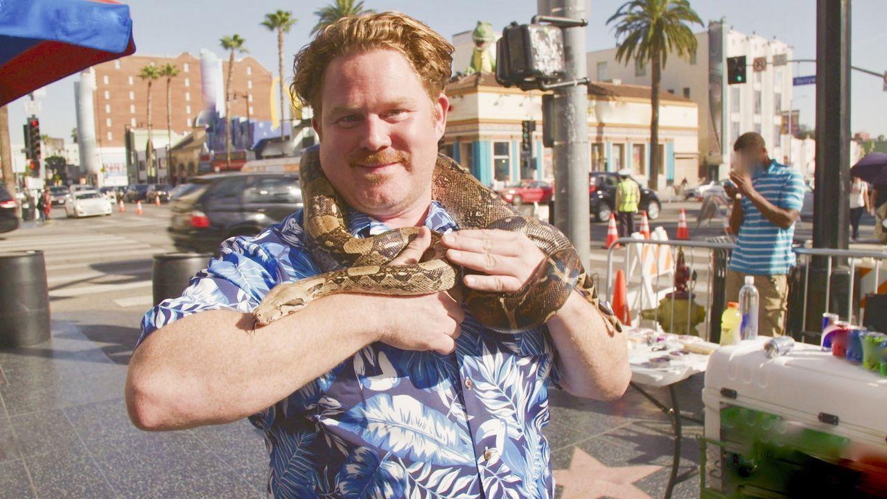 Casey Webb macht dieses Mal Los Angeles in Kalifornien unsicher ... - Bildquelle: 2017, The Travel Channel, LLC. All Rights Reserved.