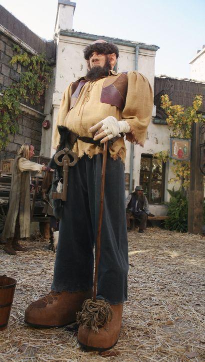 In der Geschichte von Dr. Cox ist der Hausmeister (Neil Flynn) ein unberechenbarer Riese ... - Bildquelle: Touchstone Television