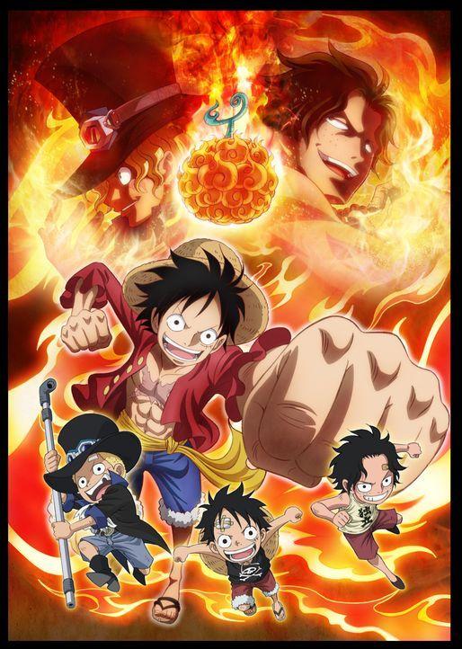 One Piece: Sabo - Artwork - Bildquelle: 1999 Toei Animation Co., Ltd.