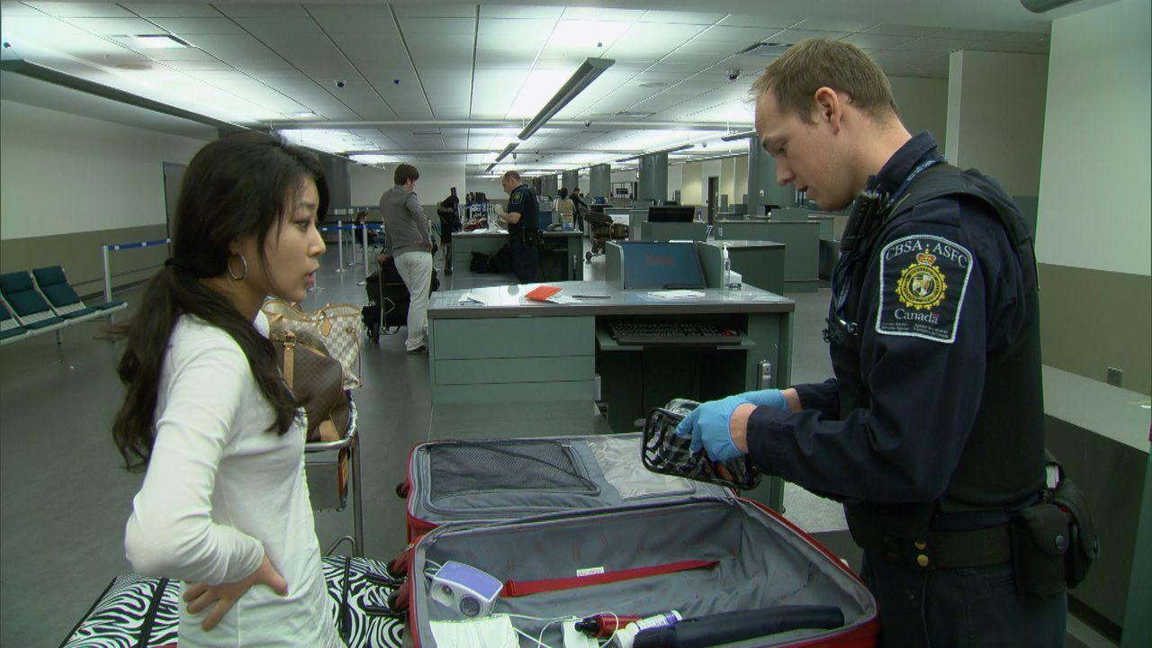 An der kanadischen Grenze haben die Beamten alle Hände voll zu tun - die Grenzbeamten haben jedoch erprobte Spürnasen und wissen genau, welcher der... - Bildquelle: Force Four Entertainment / BST Media 2 Inc.