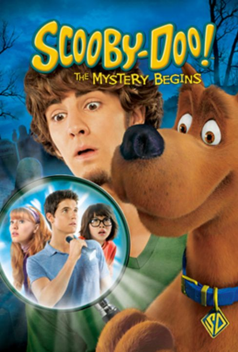 SCOOBY-DOO! THE MYSTERY BEGINS - Plakatmotiv - Bildquelle: 2009   Warner Brothers