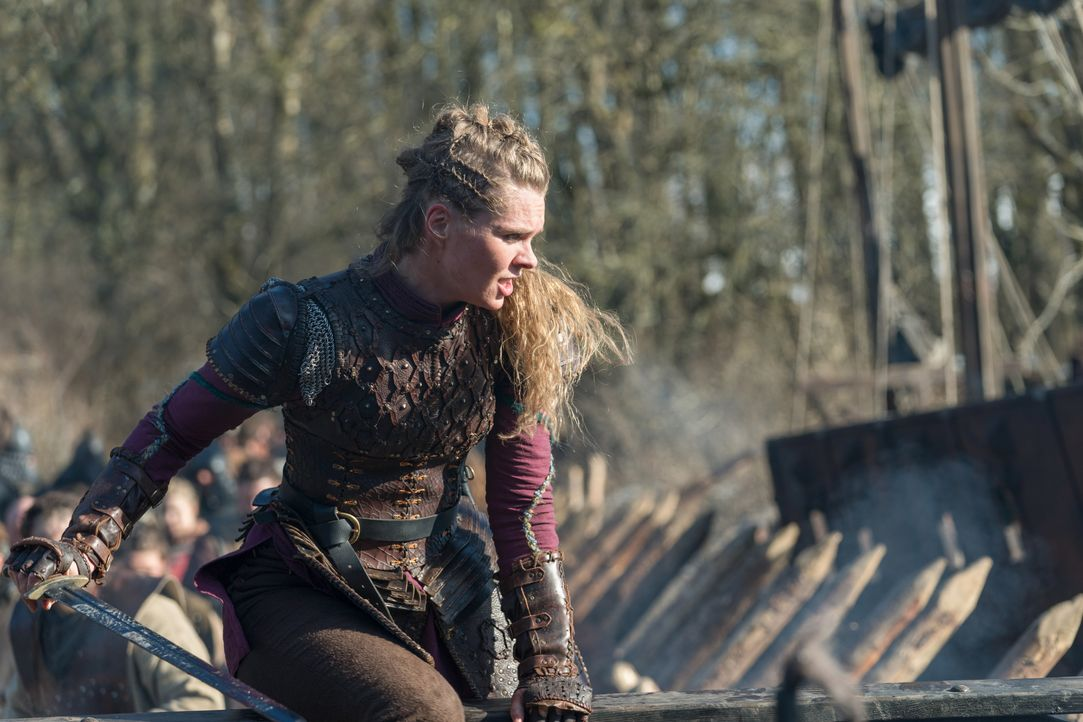 Gunnhild (Ragga Ragnars) - Bildquelle: 2020 TM Productions Limited / T5 Vikings IV Productions Inc. All Rights Reserved. An Ireland-Canada Co-Production.