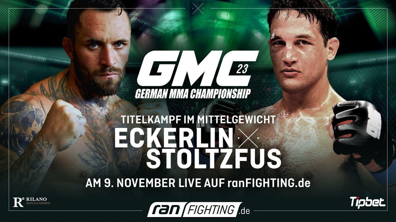 ran Fighting: GMC23 - Plakat - Bildquelle: ProSieben MAXX/Seven Sport