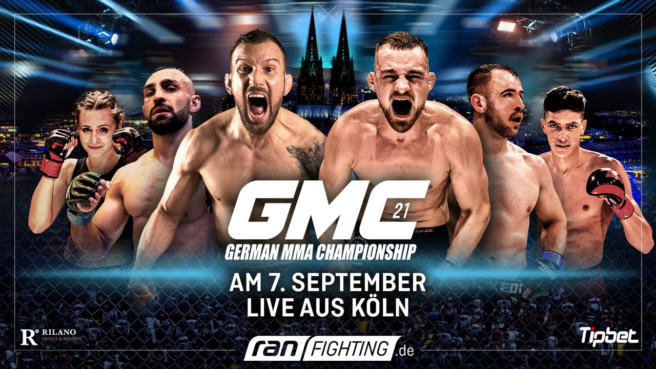 ran Fighting: GMC21 - Plakat - Bildquelle: ProSieben MAXX/Seven Sport