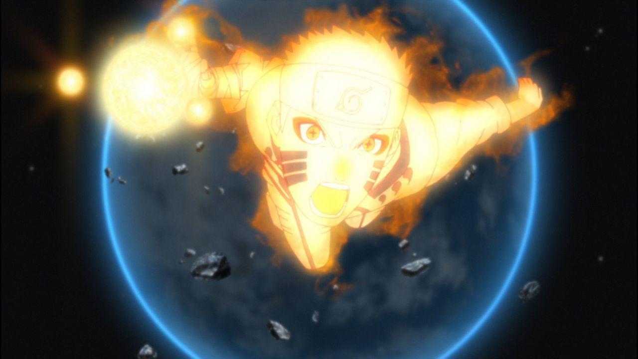 Während ihrer Jagd nach den Entführern von Hinatas Schwester Hanabi stoßen Naruto (Bild) und seine Freunde auf einige Rätsel: Wer sind die mysteriös... - Bildquelle: 2002 MASASHI KISHIMOTO /2007 Shippuden   NMP 2014