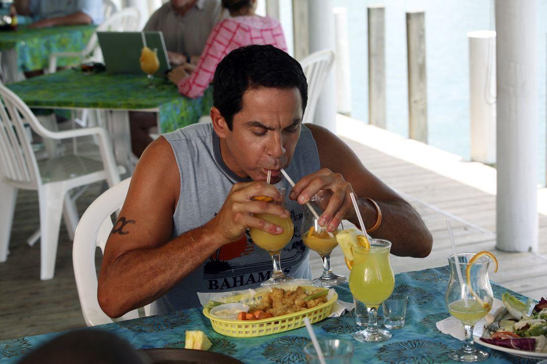 Lässt es sich auf den Bahamas gut gehen: Todd (Robert Maschio) ... - Bildquelle: Touchstone Television