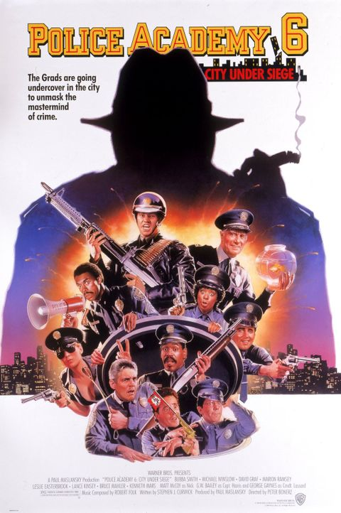 Police Academy 6 - Plakatmotiv - Bildquelle: Warner Brothers International