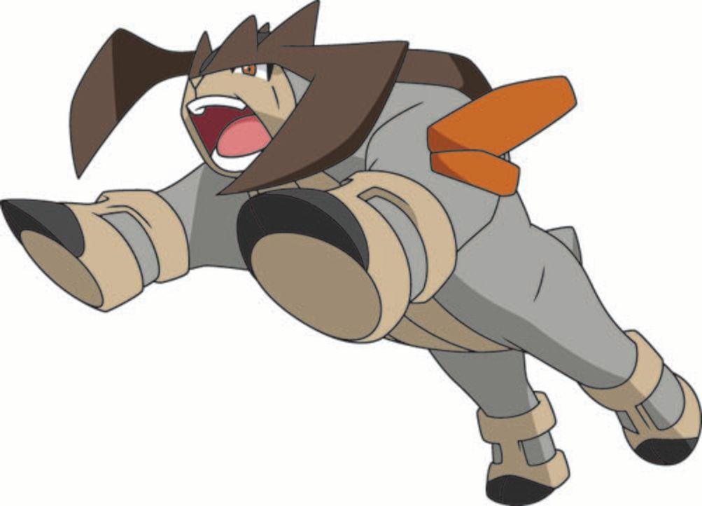 Terrakium (Bild) hat viel Macht über Gestein, doch wird ihm das im Kampf gegen Kyurem helfen? - Bildquelle: 2014 Pokémon.   1997-2014 Nintendo, Creatures, GAME FREAK, TV Tokyo, ShoPro, JR Kikaku. TM, ® Nintendo.