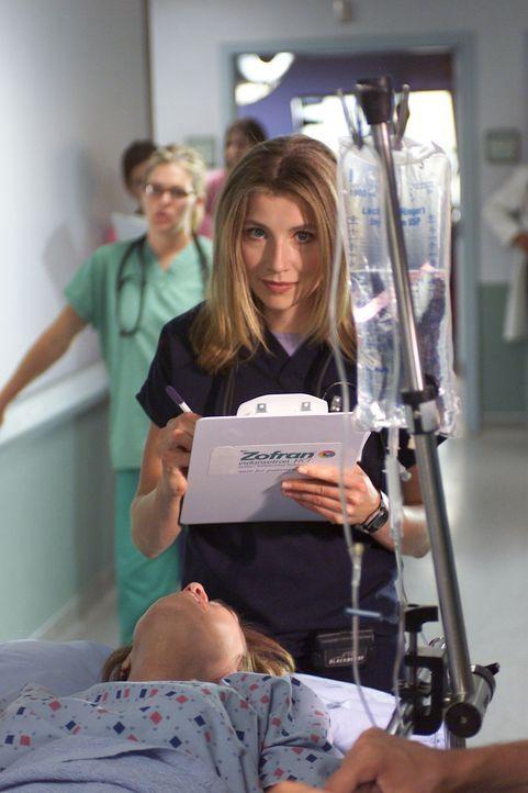 Für Dr. Cox ist Elliots (Sarah Chalke) Liebesbeziehung mit J.D. ein Grund mehr, sie zu schikanieren ... - Bildquelle: Touchstone Television