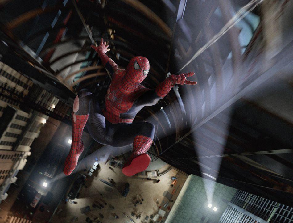 Das Leben von Peter Parker (Tobey Maguire) könnte nicht besser laufen: Er hat Frieden geschlossen mit der Existenz seines Alter Egos und genießt sei... - Bildquelle: 2007 Marvel Characters, Inc.  2007 CPII. All Rights Reserved.