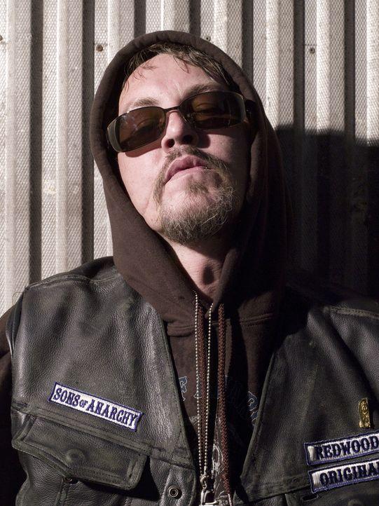 """(1. Staffel) - Seinen Spitznamen bekam Filip """"Chibs"""" Telford (Tommy Flanagan) durch die Narben in seinem Gesicht. Weil er als Sanitäter beim Milit - Bildquelle: 2008 FX Networks, LLC. All rights reserved."""