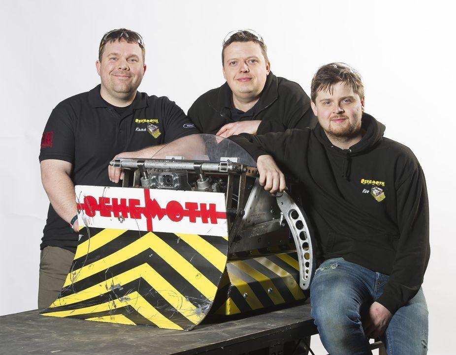Sie wollen mit ihrem selbst gebauten Roboter ins Finale kommen: Team Behemoth ... - Bildquelle: Alan Peebles