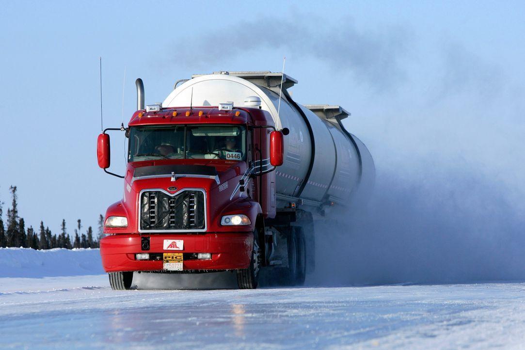 (1. Staffel) - Ice Road Truckers - Gefahr auf dem Eis - Bildquelle: 2019 A&E Networks, LLC.