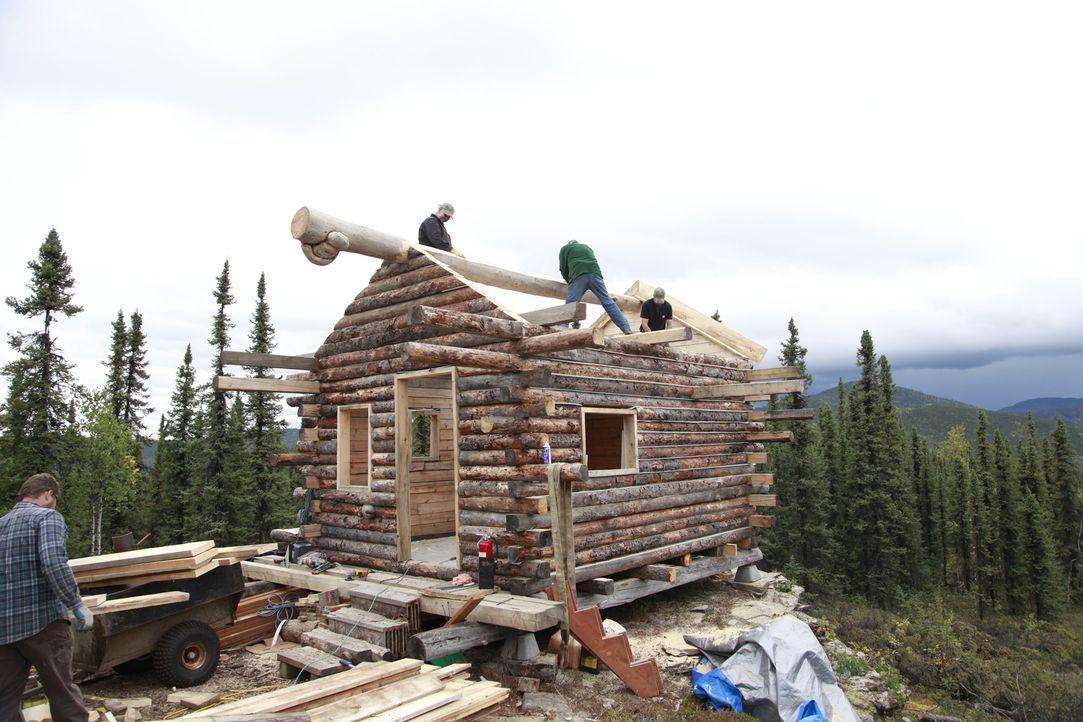 Weit entfernt von der nächsten Zivilisation möchte Bruce Ward ein Holzhaus für sich und seine Familie bauen, um das Leben in der Natur in vollen Züg... - Bildquelle: 2015, DIY Network/Scripps Networks, LLC. All Rights Reserved.