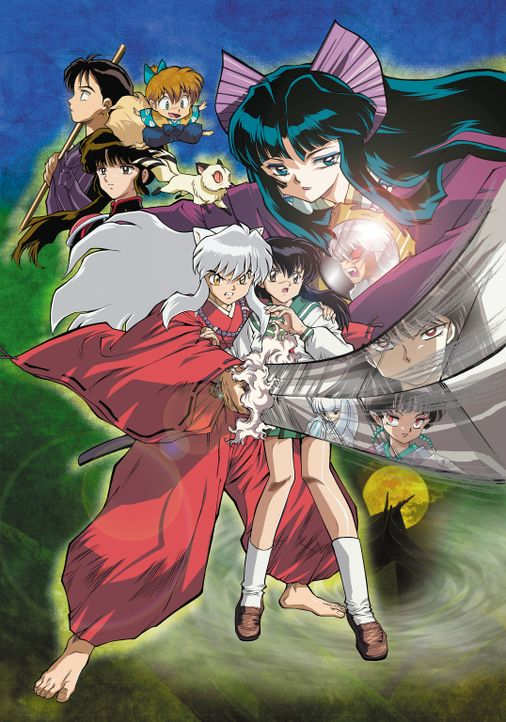 Inuyasha: The Castle Beyond the Looking Glass - Artwork - Bildquelle: 2002  Rumiko Takahashi / Shogakukan-YTV-Sunrise-ShoPro-NTV-Toho-Yomiuri-TV Enterprise All Rights Reserved