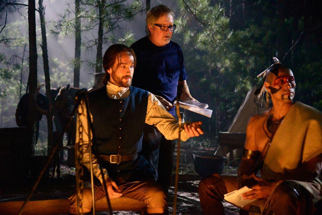 Backstage am Set von Sleepy Hollow - Bild9 - Bildquelle: 20th Century Fox and all of its entities all rights reserved