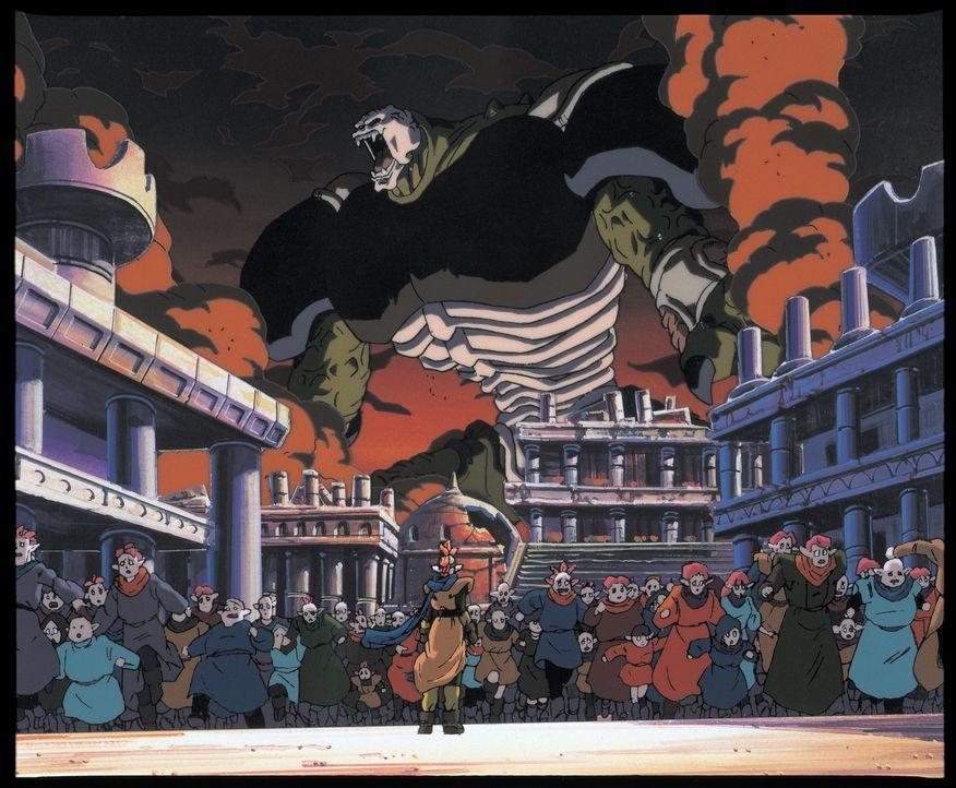 Hildegarn (hinten) - Bildquelle: Bird Studio/Shueisha, Toei Animation Film © 1995 Bird Studio/Shueisha, Toei, Toei Animation