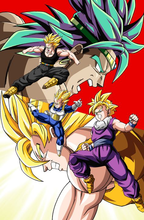 Dragonball Z: Der legendäre Super-Saiyajin - Artwork - Bildquelle: Bird Studio/Shueisha, Toei Animation Film © 1993 Toei Animation Co., Ltd.