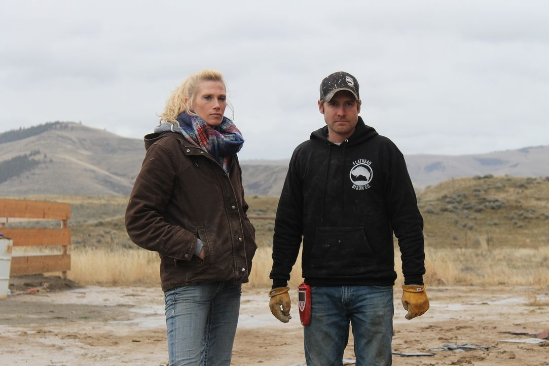 Die nächsten Nachbarn sind weit entfernt, dennoch wollen die Smiths gemeinsam mit Töchterchen Syndi in der Wildnis Montanas leben. Doch wissen sie w... - Bildquelle: 2016,DIY Network/Scripps Networks, LLC. All Rights Reserved