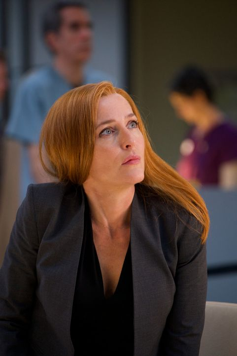 Kommt Scully (Gillian Anderson) ihrem Sohn dichter, als sie sich je erträumt hatte? - Bildquelle: Shane Harvey 2018 Fox and its related entities. All rights reserved. / Shane Harvey