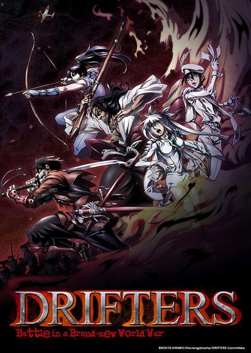 Drifters - Artwork - Bildquelle: KOUTA HIRANO/Shonengahasha/DRIFTERS Committee