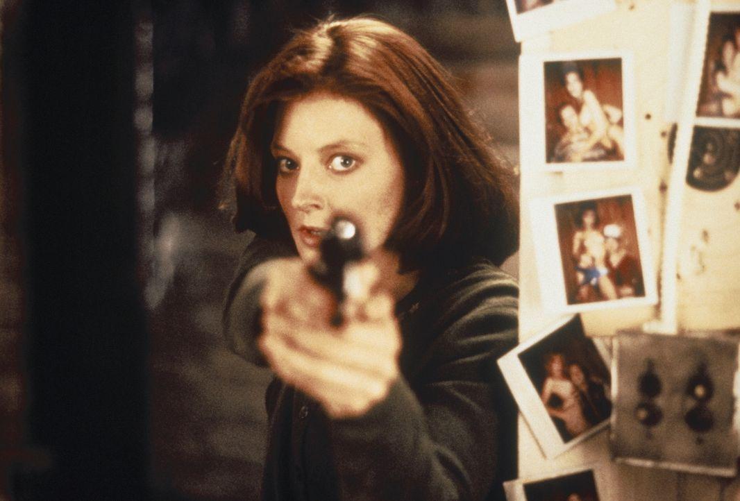 Als die junge Polizeischülerin Clarice Starling (Jodie Foster) den psychopathischen Mörder ausfindig machen kann, geht der Horror erst richtig los .... - Bildquelle: Orion Pictures Corporation