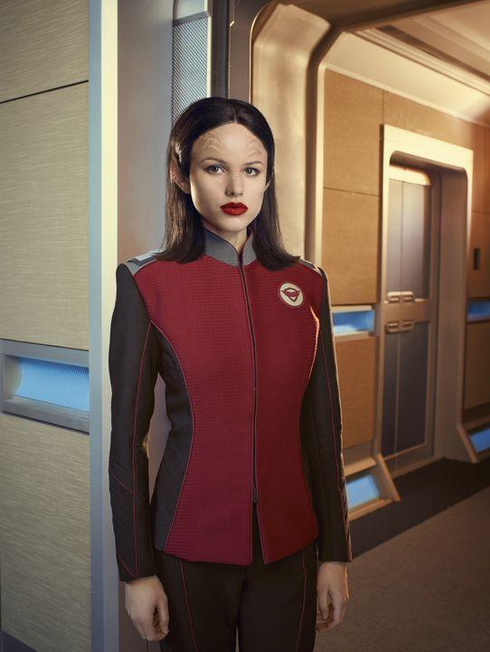 (1. Staffel) - Die junge Alara Kitan (Halston Sage) ist als Sicherheitsoffizierin noch unerfahren, doch ihre Herkunft verleiht ihr eine übernatürlic... - Bildquelle: 2017 Fox and its related entities.  All rights reserved.