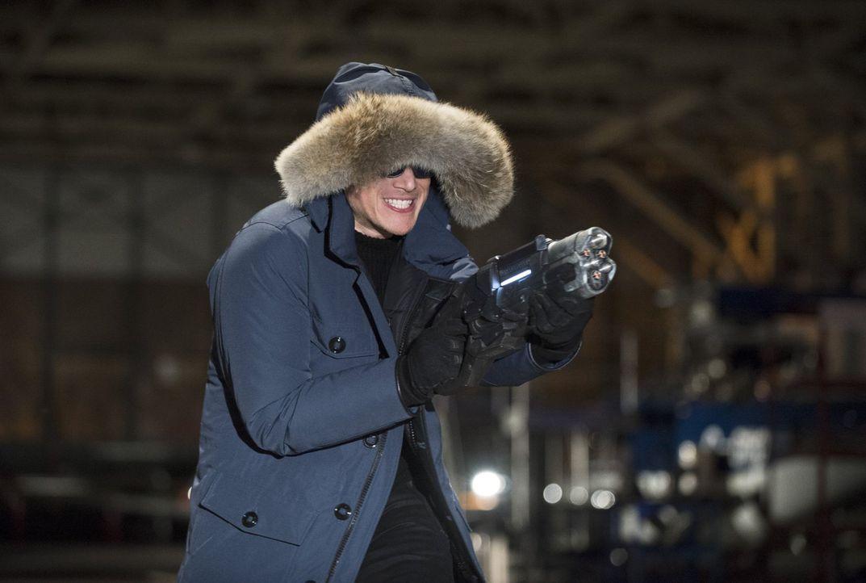"""Versucht alles, um Barry alias """"The Flash"""" auszuschalten: Leonard Snart alias Captain Cold (Wentworth Miller) ... - Bildquelle: Warner Brothers."""