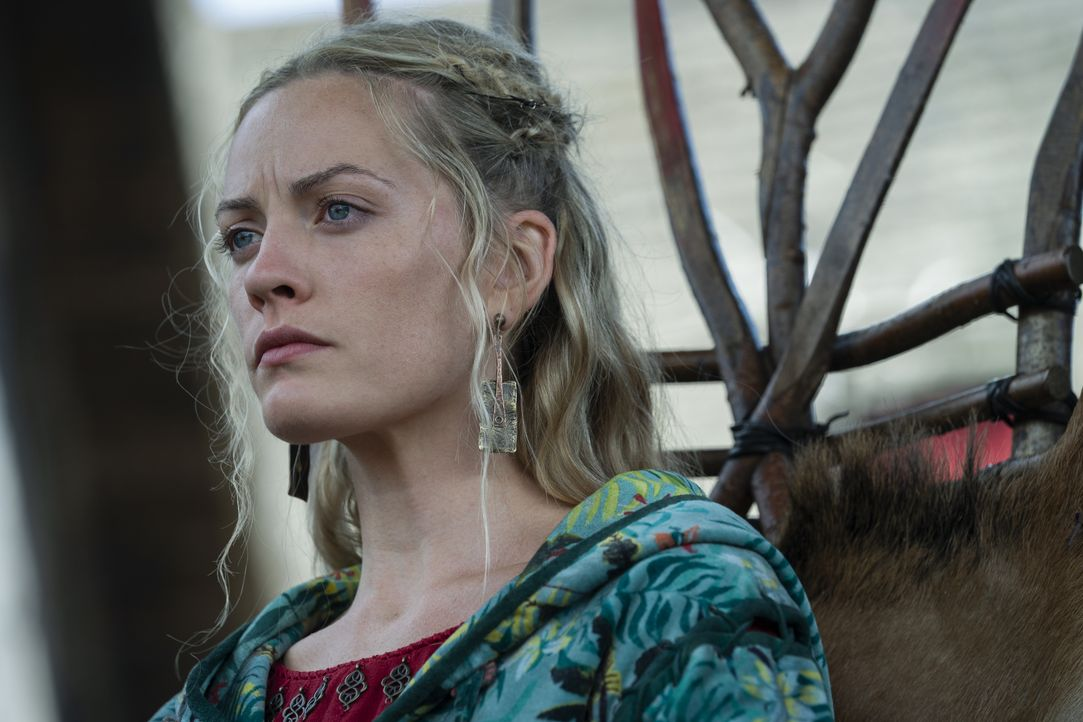 Ingrid (Lucy Martin) - Bildquelle: 2020 TM Productions Limited / T5 Vikings IV Productions Inc. All Rights Reserved. An Ireland-Canada Co-Production.