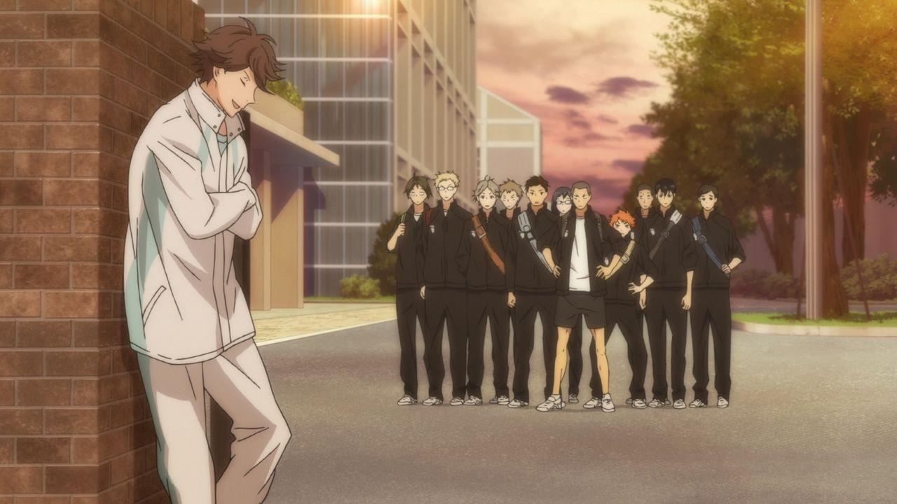 "Toru Oikawa (l.) - Bildquelle: H.Furudate / Shueisha,""Haikyu!!?Project,MBS"