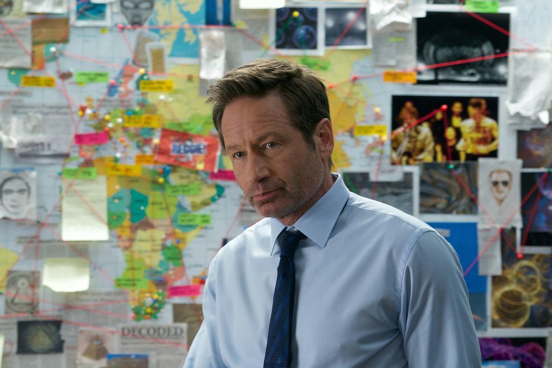 Findet Mulder (David Duchovny) tatsächlich heraus, woher die X-Akten wirklich stammen? - Bildquelle: Shane Harvey 2018 Fox and its related entities. All rights reserved. / Shane Harvey