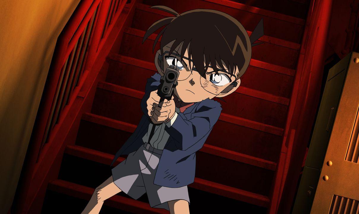 Conan trifft erneut auf die Schwarze Organisation, der er seine Misere zu verdanken hat. Doch nun steht nicht nur sein Leben, sondern auch das seine... - Bildquelle: GOSHO AOYAMA / DETECTIVE CONAN COMMITTEE