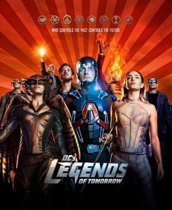(1. Staffel) -  Legends of Tomorrow - Plakat - Bildquelle: 2015 Warner Bros.