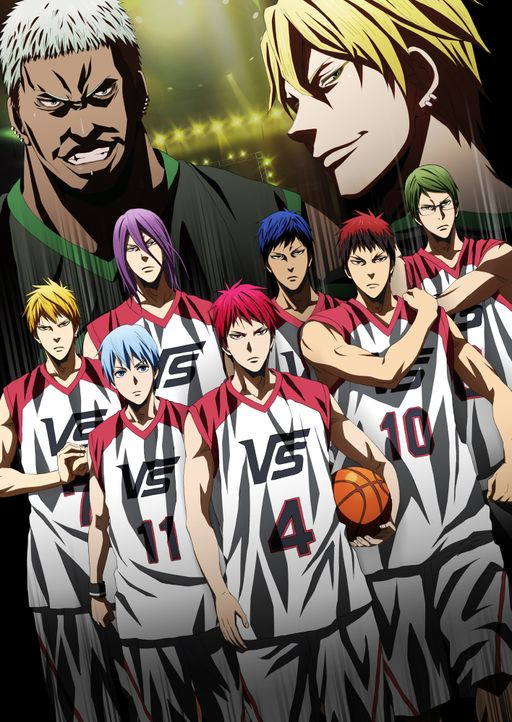 Kuroko's Basketball: Last Game - Artwork - Bildquelle: Tadatoshi Fujimaki/SHUEISHA,Team Kuroko The Movie