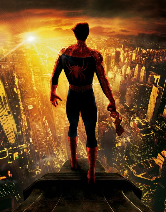 Peter Parker alias Spider-Man (Tobey Maguire) ist ratlos: Soll er sich dem privaten Glück, also der Liebe zu Mary Jane widmen, oder sich der Verantw... - Bildquelle: Sony Pictures Television International. All Rights Reserved.
