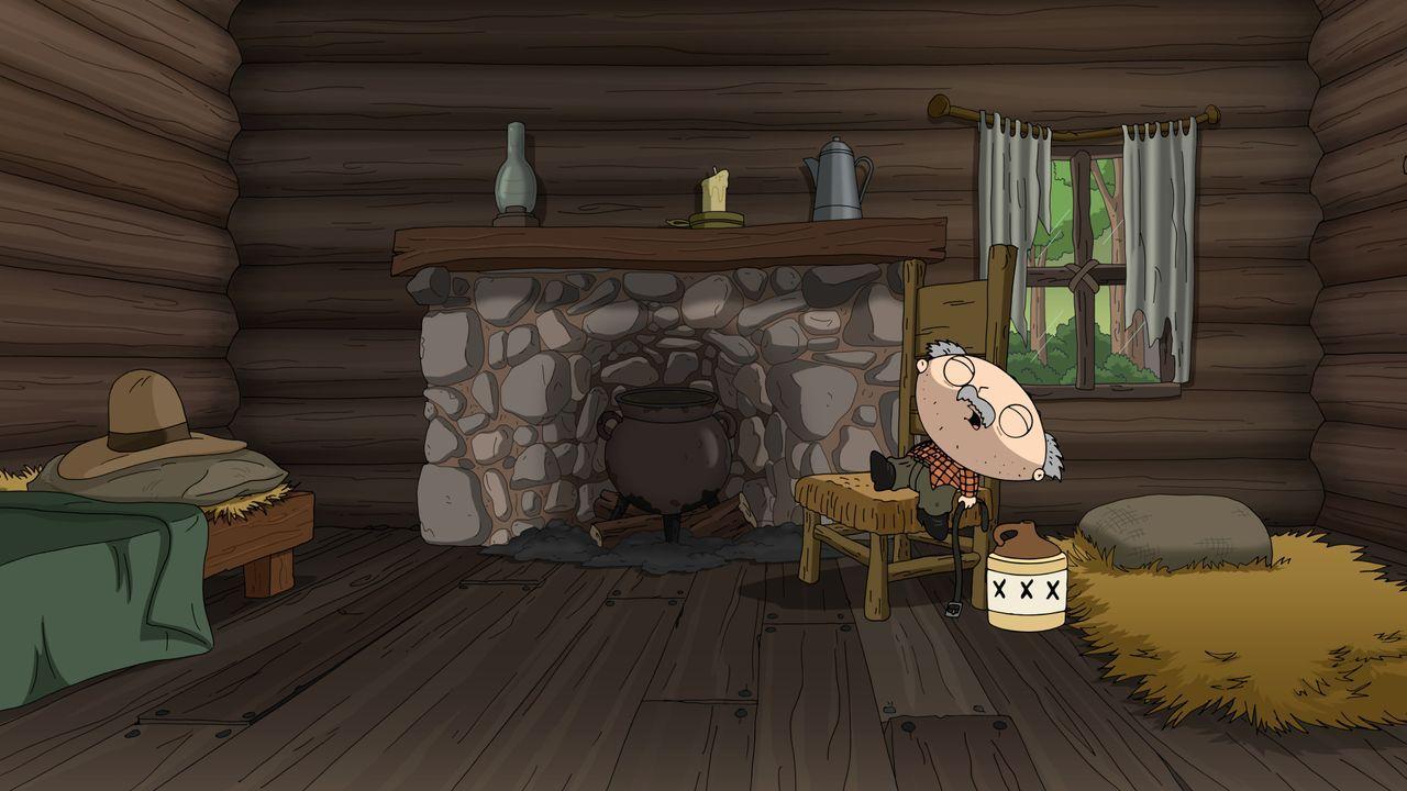 Huckleberry Finns Vater (Stewie) ist Alkoholiker und schlägt seinen Sohn - doch um seinem Schicksal zu entkommen, schmiedet Huck einen Plan ... - Bildquelle: 2016-2017 Fox and its related entities. All rights reserved.