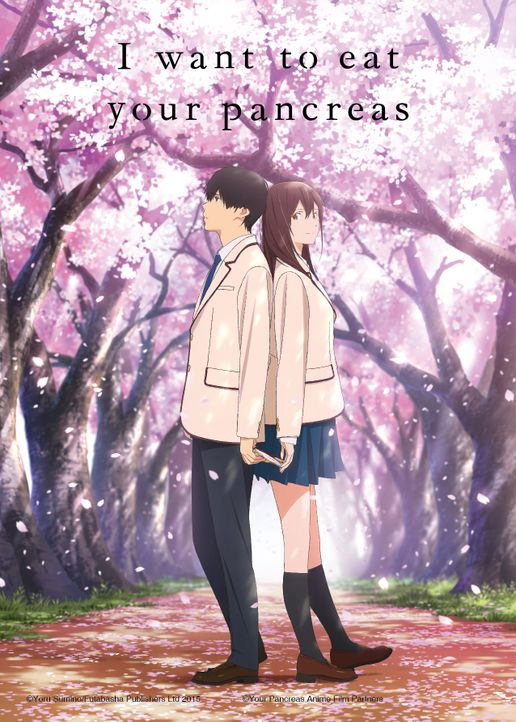 I Want to Eat Your Pankreas - Artwork - Bildquelle: Yoru Sumino/Futabasha Publishers Ltd 2015 / Your Pancreas Anime Film Partners