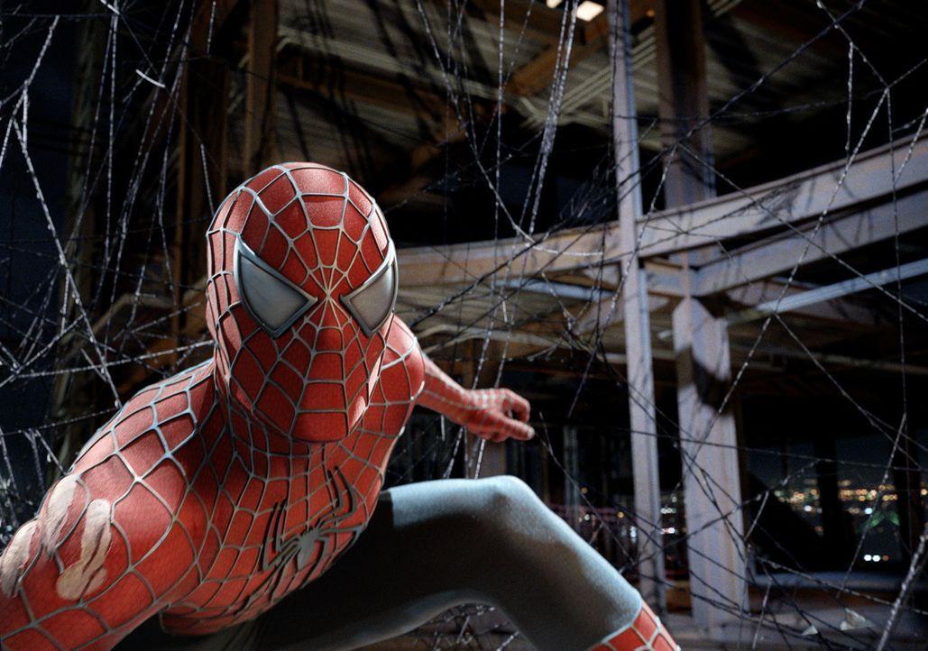 Eigentlich will Peter Parker alias Spider-Man (Tobey Maguire) nur seiner Mary Jane einen Heiratsantrag machen, doch irgendwie kommt immer wieder etw... - Bildquelle: 2007 Marvel Characters, Inc.  2007 CPII. All Rights Reserved.