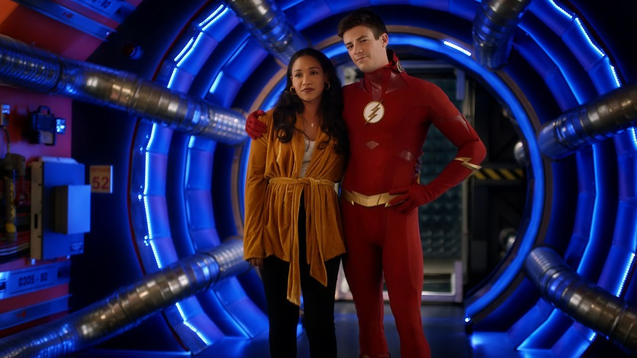 Iris (Candice Patton, l.); Barry (Grant Gustin, r.) - Bildquelle: 2018 The CW Network, LLC. All rights reserved.