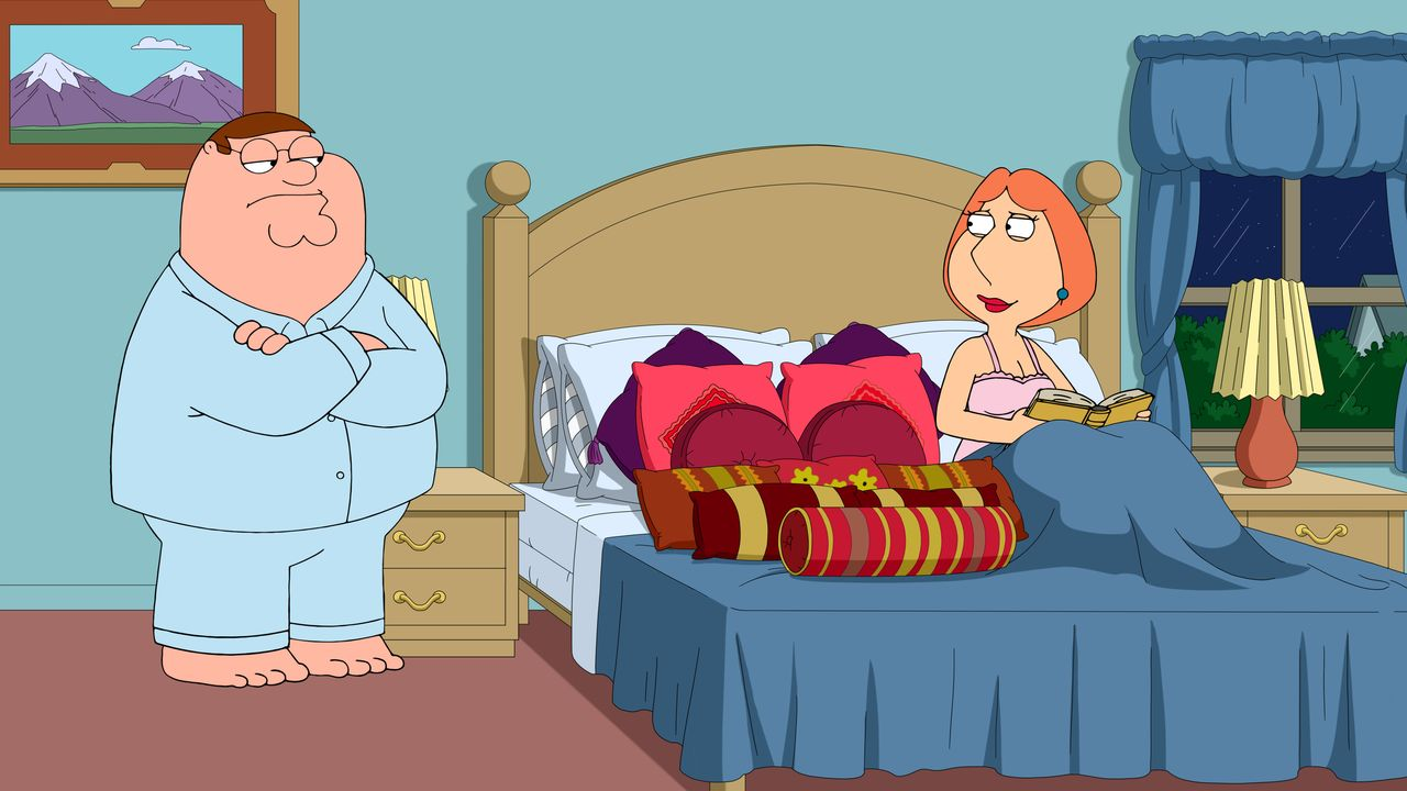 Peter Griffin (l.), Lois Griffin (r.) - Bildquelle: 2018-2019 Fox and its related entities. All rights reserved.