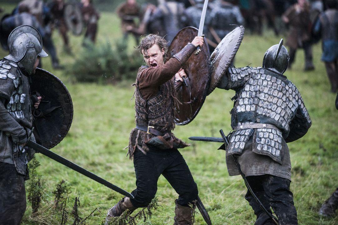 Im Kampf gegen die mächtigen Engländer: Erlendur (Edvin Endre) ... - Bildquelle: 2014 TM TELEVISION PRODUCTIONS LIMITED/T5 VIKINGS PRODUCTIONS INC. ALL RIGHTS RESERVED.