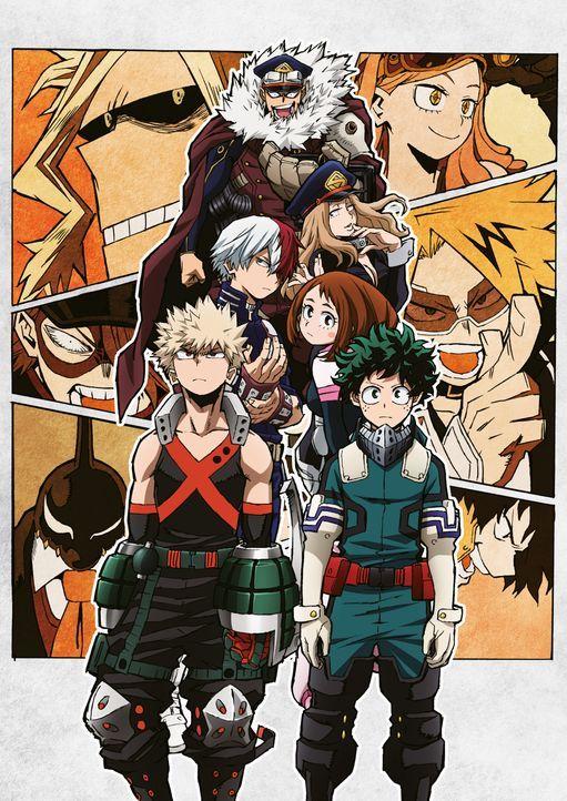(3. Staffel) - My Hero Academia - Artwork - Bildquelle: K. Horikoshi / Shueisha, My Hero Academia Project