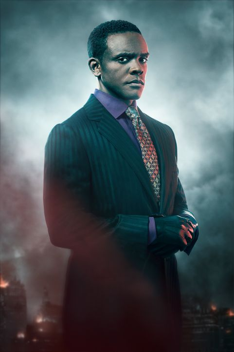 (5. Staffel) - Lucius Fox (Chris Chalk) - Bildquelle: 2018 Warner Bros. Entertainment Inc.  All Rights Reserved.