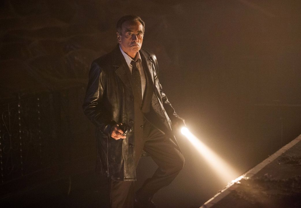 Im Kampf gegen das Böse: Detective Dix (Dan Hedaya) ... - Bildquelle: Warner Bros. Entertainment, Inc.