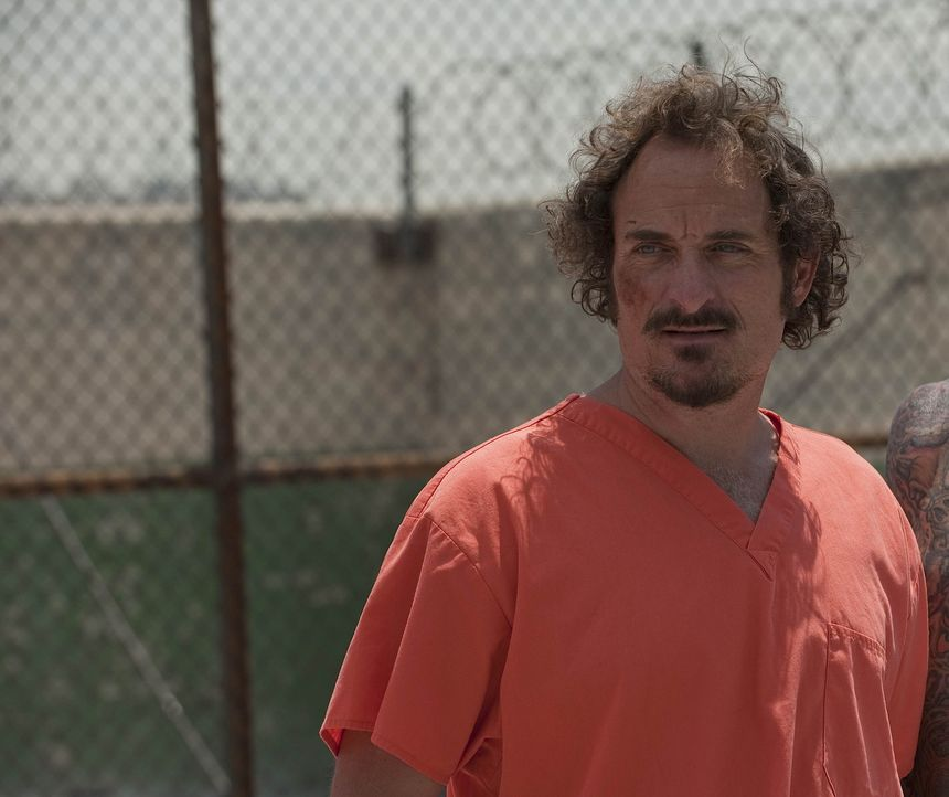 Tig (Kim Coates) zeigt den Mithäftlingen gleich, dass er sich nicht so leicht unterkriegen lässt ... - Bildquelle: 2009 Twentieth Century Fox Film Corporation and Bluebush Productions, LLC. All rights reserved.